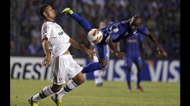 Emelec derrotó 2-1 a Fluminense en partido de ida por la Libertadores