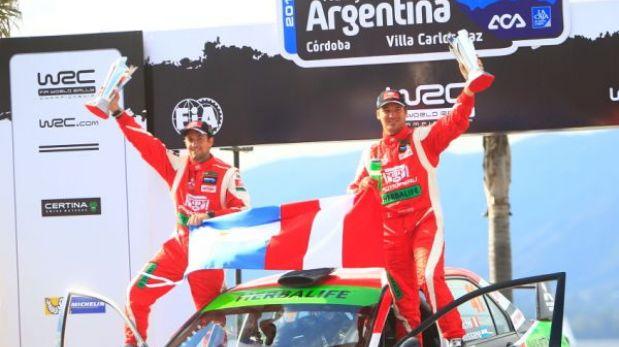 Nicolás Fuchs ganó el Rally Argentina y ya supera Ramón Ferreyros en victorias mundialistas