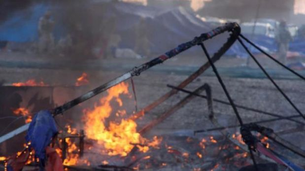 Israel bombardeó en Siria un cargamento de misiles