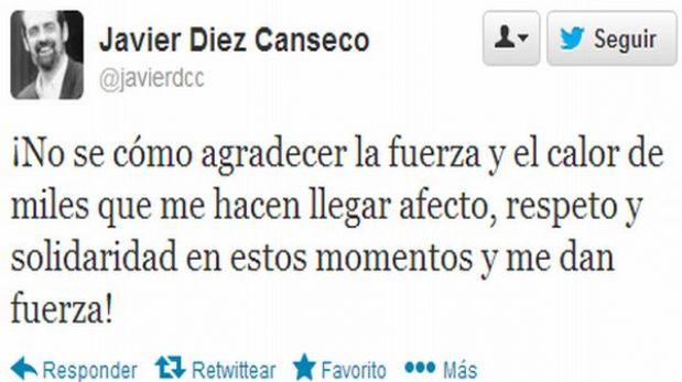 Javier Diez Canseco y sus últimos mensajes sobre su lucha contra el cáncer