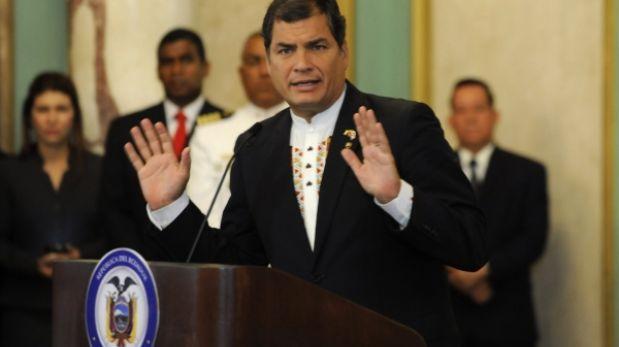 Correa pide seguir recibiendo con los brazos abiertos a peruanos en Ecuador