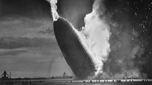 El Hindenburg, el dirigible más conocido de la historia, se estrelló hace 75 años