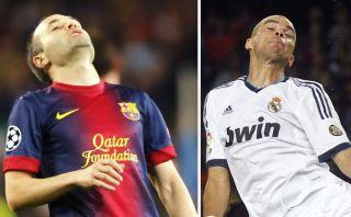 Andrés Iniesta y Pepe recibieron la artillería pesada de Mourinho