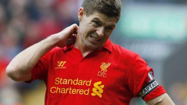 Gerrard será operado del hombro y se perderá amistoso ante Brasil