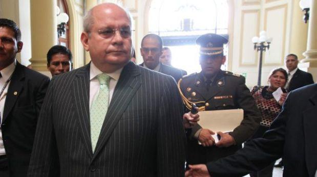 Ministro de Defensa irá al Congreso para aclarar balacera en el Vraem