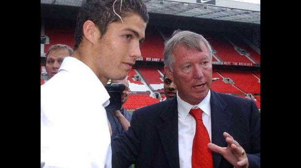 """Cristiano Ronaldo a Ferguson: """"Gracias por todo, jefe"""""""