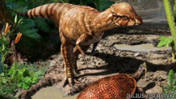 Encuentran en Canadá una nueva especie de dinosaurio