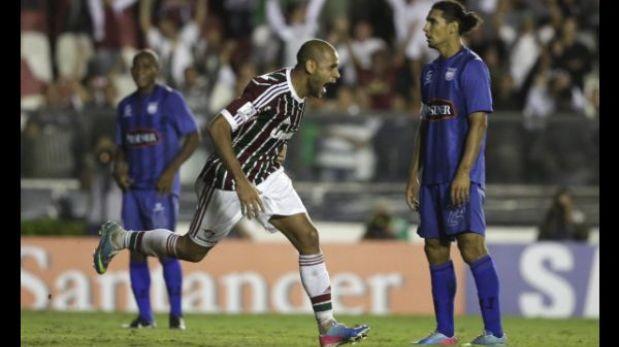 Fluminense venció 2-0 a Emelec y avanzó a cuartos de final de Libertadores