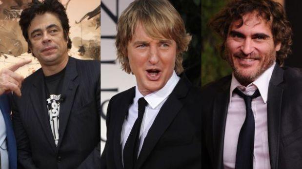 Owen Wilson, Benicio del Toro y Joaquin Phoenix protagonizarán película