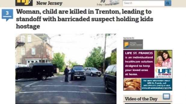 EE.UU.: un hombre mató a su esposa y tiene a sus hijos como rehenes