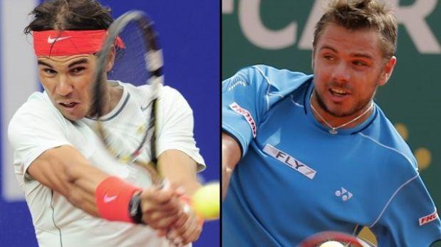 Tenis: Nadal y Wawrinka jugarán la final del Masters de Madrid