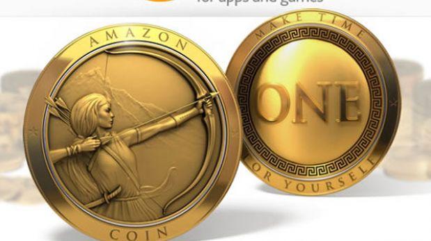 Amazon lanzó su moneda digital Amazon Coins