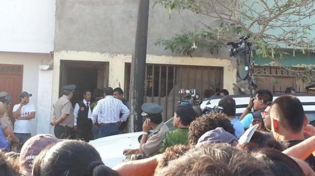Cadáver de adolescente estaba enterrado en casa de VMT