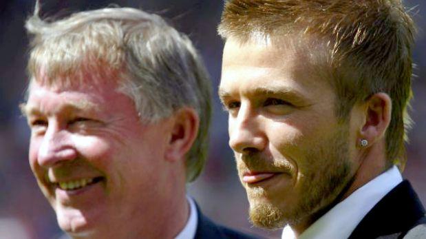 "Ferguson: ""David Beckham ha elegido el momento correcto para retirarse"""