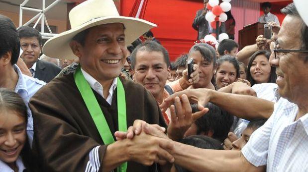"""Ollanta Humala volvió a Cajamarca: """"He regresado a cumplir mi palabra"""""""
