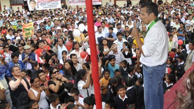"""Ollanta Humala: """"Propongo un pacto por el desarrollo de Cajamarca"""""""
