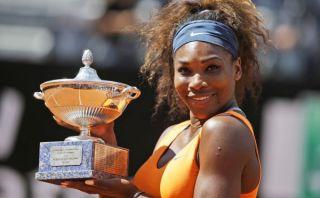Serena Williams sigue imparable: batió a Azarenka y conquistó Roma