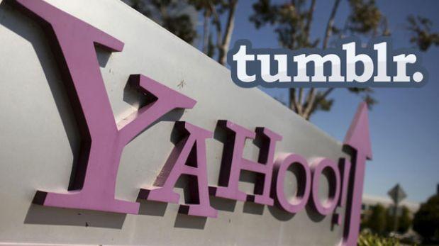 Yahoo acordó la compra de Tumblr por 1.100 millones de dólares