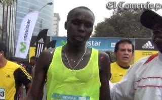 Keniata Isaac Kimaiyo ganó la multitudinaria maratón Lima 42K