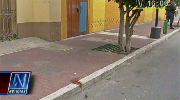 Cambista baleado en Miraflores se debate entre la vida y la muerte en hospital