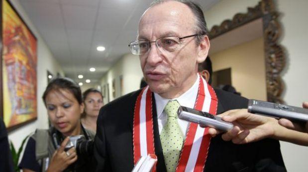 Fiscal Peláez garantizó investigación imparcial a Alejandro Toledo y Alan García