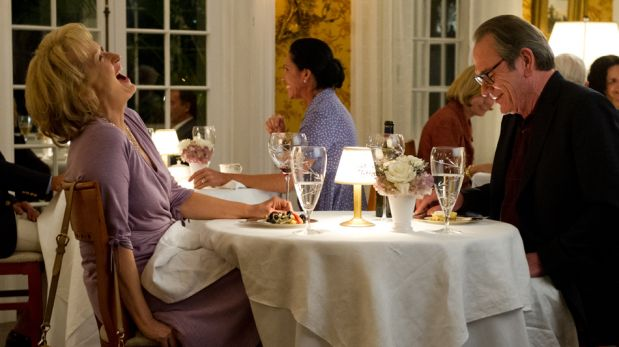 """FOTOS: un adelanto de """"Qué hago con mi marido"""", la nueva comedia de Meryl Streep"""