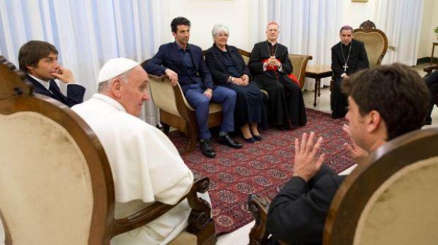 Papa Francisco recibió a Juventus, campeón de la Liga Italiana
