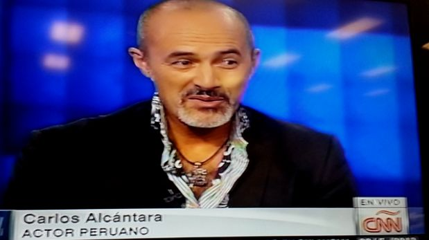 """Carlos Alcántara fue entrevistado en CNN por el éxito de """"Asu Mare"""""""