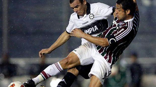 Copa Libertadores: Olimpia logró empate 0-0 de visita ante Fluminense