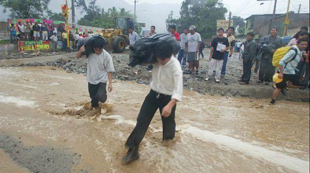 Puno y Huánuco en estado de emergencia por deslizamientos de tierra