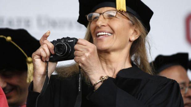 La fotógrafa Annie Leibovitz premiada con el Príncipe de Asturias