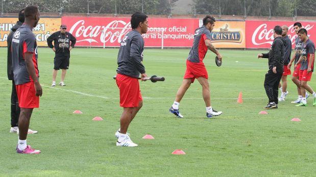 FOTOS: Vargas, Zambrano y Rodríguez comandan los entrenamientos de Perú pensando en Panamá