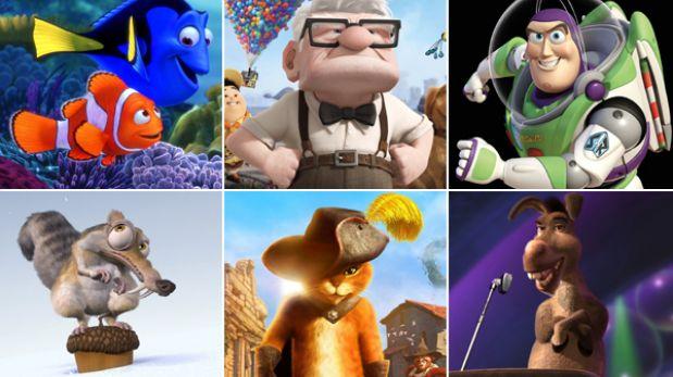 Los personajes más queridos del cine de animación