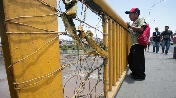 Puente provisional de Av. Universitaria se instalará a inicios de julio