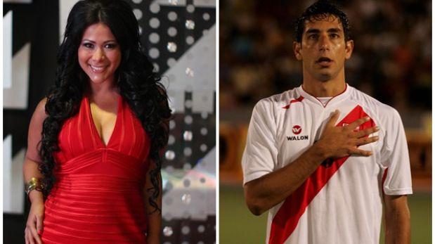 Magdyel Ugaz negó romance con el futbolista Juan Cominges