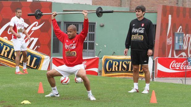 FOTOS: Jefferson Farfán se unió a la selección peruana en la Videna