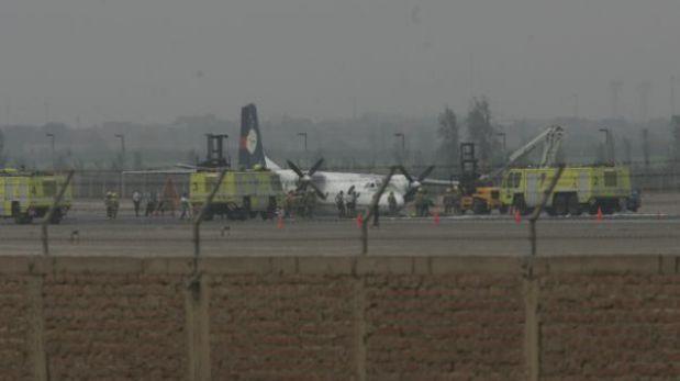 Ica: tres heridos dejó el aterrizaje de emergencia de un avión del Ejército