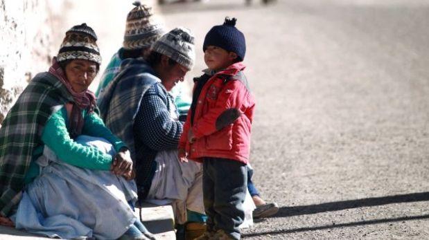 Zonas altas de Arequipa soportarán temperaturas de cinco grados bajo cero