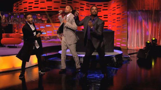 Will Smith y su hijo bailaron con 'Carlton Banks' en un divertido reencuentro