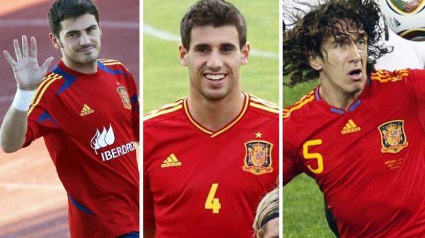 España irá con Iker Casillas y Javi Martínez pero sin Puyol a la Copa Confederaciones