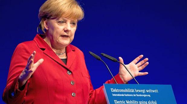 Canciller alemana afina receta ante riesgo de recesión