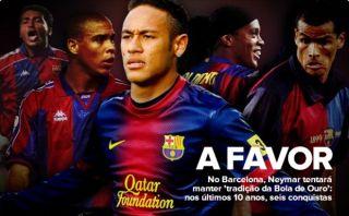 Neymar buscará en Barcelona cumplir el sueño del Balón de Oro