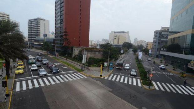 Comenzó el cierre parcial de la Av. Larco en Miraflores