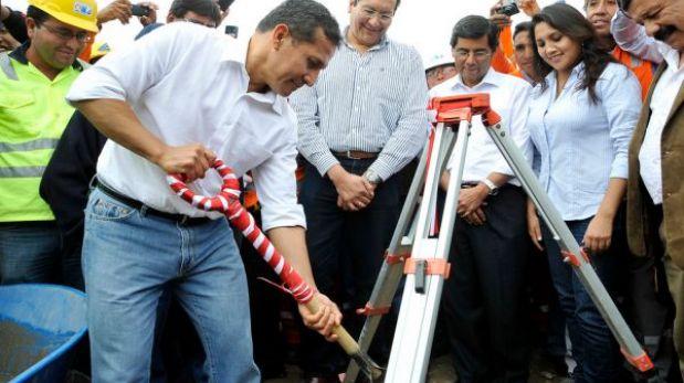 Carretera en Arequipa lanzada hoy por Humala estará lista en dos años y medio