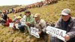 Cajamarca: Policía Nacional desmintió denuncia sobre enfrentamientos - Noticias de jorge huaman cueva
