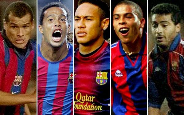 Resultado de imagen para Brasileños Barcelona