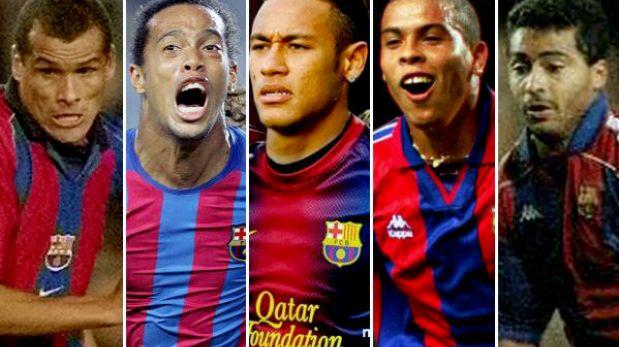 Brasileños en el Barcelona: ¿Quién tuvo el mejor paso por el Camp Nou?