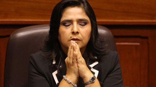 Ana Jara pidió asistir a Fiscalización para aclarar dudas sobre presupuesto
