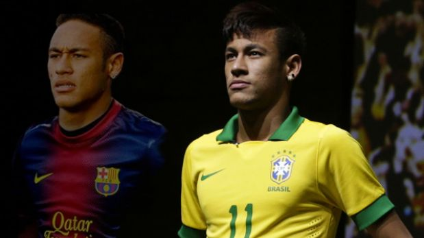 Neymar logró permiso de Brasil para ser presentado en Barcelona el lunes