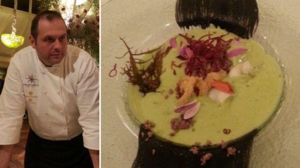 La cena que el chef de un restaurante con 3 estrellas Michelin ofrece en Lima
